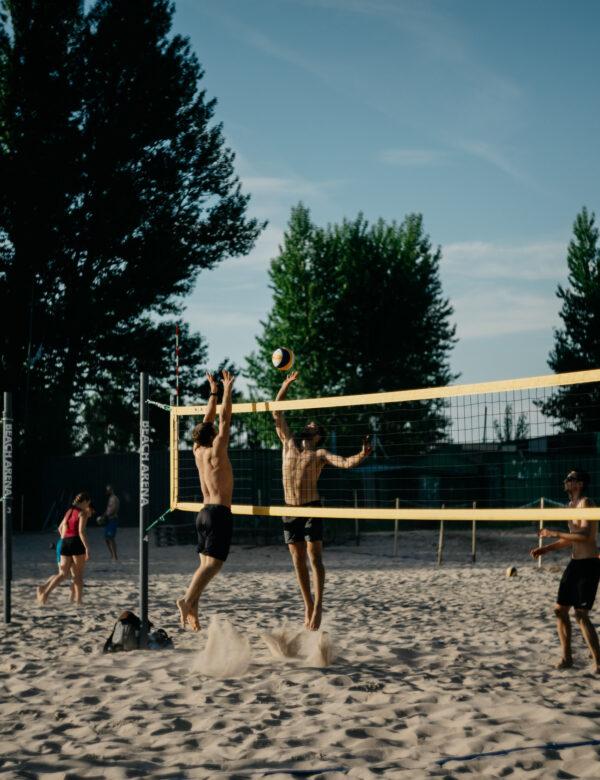 Pludmales volejbols jauniešiem